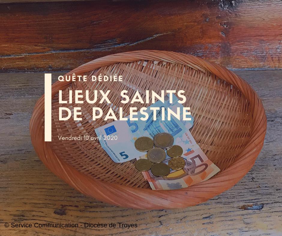 quête impérée pour les lieux saints de Palestine