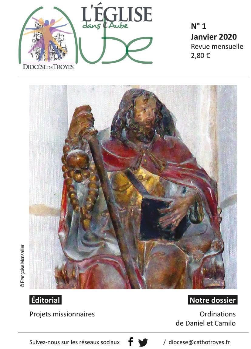 Revue Eglise dans l'Aube janvier 2020