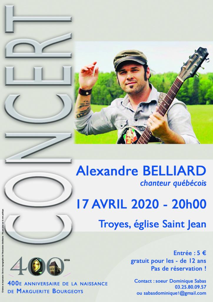 afficher concert Alexandre Belliard